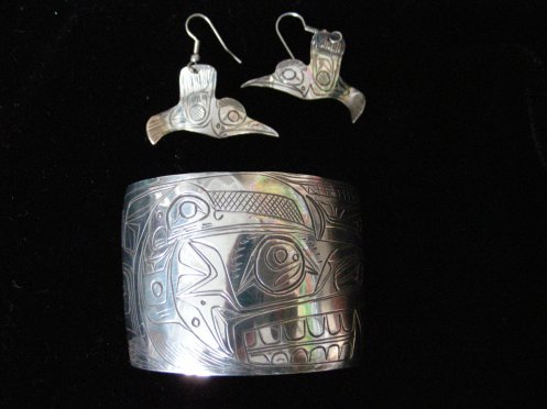 Jackson Robertson - Silver Carved Jewellery