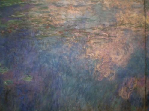 Monet Lillies - captured liquid colors