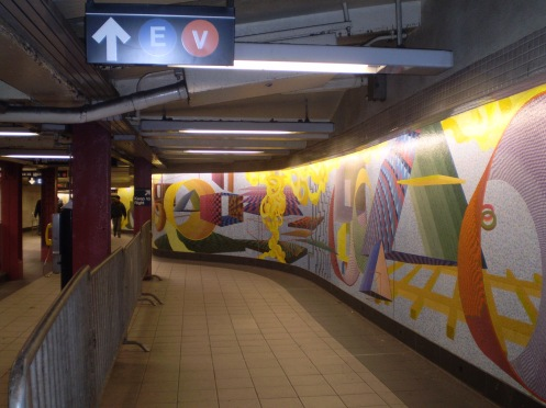 New York Subway Mosaics