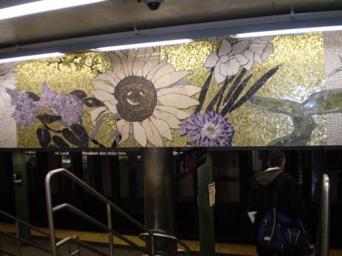 More New York Subway Mosaic Art