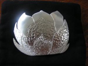 Lotus Flower Pendant  completed