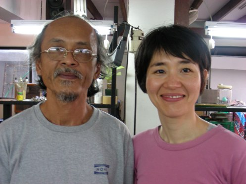 Master Silver Instructor - Nugoon & Lovely Junko, Assistant
