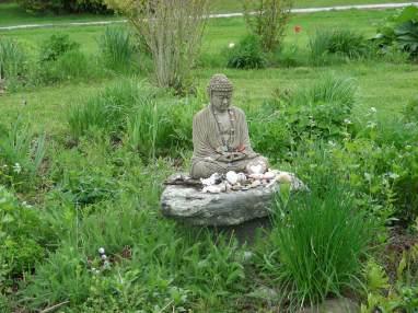 Buddha statue in Garden - I M S