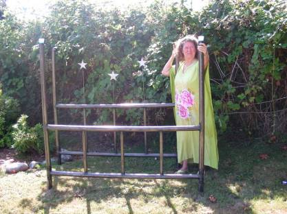 Roy Mackey's   Steel Star Bed Frame