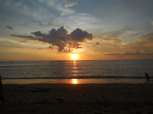 Sunset on Koh Lanta Yai Thailand