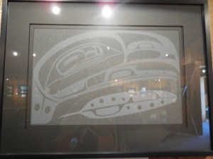 Poor pic of Eagle Feather Art