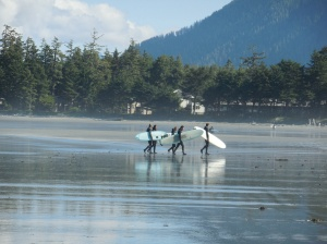 Long Beach Tofino, B.C. Canada